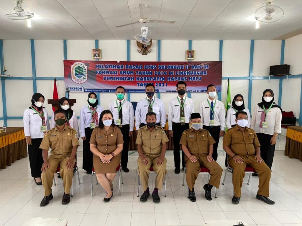 >Pelatihan Dasar CPNS Golongan II & III Formasi Umum Tahun 2019